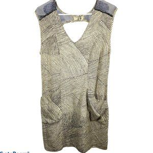 Anthropology Staring At Stars Womens Cut Out Dress